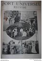 1902 CHANTILLY - PRIX DE DIANE  - COINS DU PESAGE - DEJEUNER DERRIÈRE LES TRIBUNES - Livres, BD, Revues