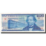 Billet, Mexique, 50 Pesos, 1973, 1973-07-18, KM:65a, SUP+ - Mexique