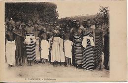 "DAHOMEY OLD PC ""FETIHEUSES"" PC  USED - Dahomey"