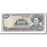Billet, Nicaragua, 1000 Cordobas, D.1987, KM:145a, TTB - Nicaragua
