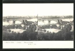 Stereo-AK Bords Du Rhin, Coblentz, Pont Du Chemin - Stereoskopie