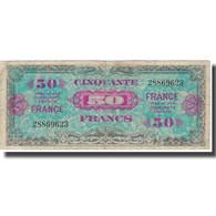 France, 50 Francs, 1945 Verso France, 1945, 1945, TB, Fayette:VF24.1, KM:122a - Treasury