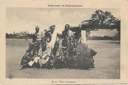 "DAHOMEY OLD PC ""Chefs Dahomeens"" PC  UNUSED - Dahomey"
