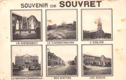 Souvenir De SOUVRET - Courcelles