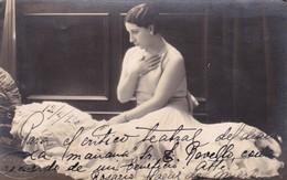 ROSARIO SAENZ DE MIERA, ACTRIZ. AUTOGRAPH SUR CPA AN YEAR 1930 ORIGINAL - BLEUP - Autógrafos