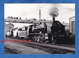 Photo Ancienne - Gare à Situer - Locomotive SNCF 141 C 100 - Vers 1980 - Train à Vapeur Tender Bahn Eisenbahn - Trains