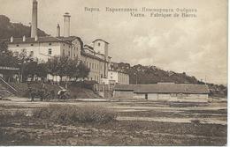 BULGARIE 1920 VARNA Fabrique De Bierre Bière CPA TBE - Bulgaria