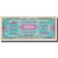 France, 50 Francs, 1945 Verso France, 1945, 1945, TTB, Fayette:VF24.2, KM:117a - Schatkamer