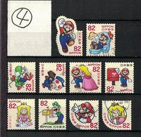 Japan 2017.06.28 Greetings, Super Mario (used)④ - 1989-... Empereur Akihito (Ere Heisei)