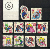 Japan 2017.06.28 Greetings, Super Mario (used)⑥ - 1989-... Empereur Akihito (Ere Heisei)