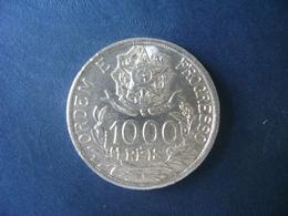 """BRAZIL / BRASIL - COIN """"1000 REIS"""", SILVER / PRATA , 1913 - Brasilien"""