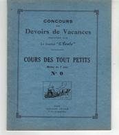 """Cahier -  Concours De Devoirs De Vacances   Organisé Par Le Journal """"L'Ecole""""  N°0 (moins De 7 Ans) - Blotters"""