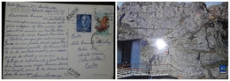 O) 1974 SPAIN, GEN FRANCO SCT 831, FROG - RANA TEMPORARIA- RED FROG, FUENTE DE FUNICULAR -AIR TRANSPORTATION SYSTEM WIT - Other