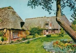 La Normandie Chaumières Normandes(2 Scans) - Basse-Normandie
