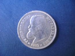 """BRAZIL / BRASIL - COIN """"500 REIS"""", SILVER / PRATA , 1889 - Brasilien"""
