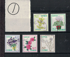 "Japan 2017.12.13 ""Omotenashi"" Flowers Series 9th (used)① - 1989-... Empereur Akihito (Ere Heisei)"