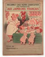 """Protège Cahier  """"aux Jambons Français"""" - Book Covers"""