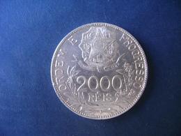 """BRAZIL / BRASIL - COIN """"2000 REIS"""", SILVER / PRATA , 1912 - Brésil"""