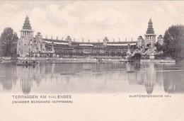 TERRASSEN AM HALENSEE. INHABER BERNHARD HOFFMANN. CPA CIRCA 1910s - BLEUP - Alemania
