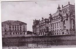 BERLIN. REICHSTAGSGEBAUDE U WOHNUNG D PRASIDENTEN. CPA CIRCA 1910s - BLEUP - Alemania