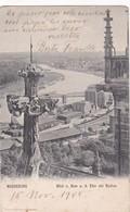 MAGDEBURG. BLICK V DOM A D ELBE WLE BUCKAU. REINICKE & RUBIN. CIRCULEE 1903 A BUENOS AIRES TIMBRE ARRACHE - BLEUP - Magdeburg