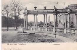 GRUSS AUS POSTDAM. LUSTGARTEN. KUNSTVERLAG J GOLDINER. CPA CIRCA 1900s - BLEUP - Potsdam