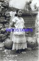 112565 MEXICO MERIDA YUCATAN COSTUMES NATIVE TIPO DE MESTIZA PHOTO NO POSTAL POSTCARD - Messico
