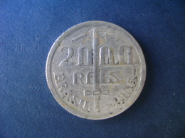 "BRAZIL / BRASIL - COIN ""2000 REIS"", SILVER / PRATA , 1935 - Brazil"