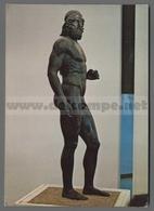 V9297 ARTE I BRONZI DI RIACE MUSEO ARCHEOLOGICO DI REGGIO CALABRIA STATUA A (m) - Sculture