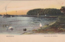 GRUNEWALD. HAVEL PARTHIE BEI SCHILDHORN. JOH FRANKE. CPA CIRCA 1900s - BLEUP - Grunewald
