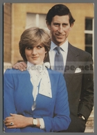 V9305 REALI DIANA E CARLO MARRIAGE OF THE PRINCE OF WALES AND LADY DIANA SPENCER VG (m) - Marriages
