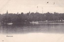 WANNSEE. JOH FRANKE. CPA CIRCA 1900 TBE - BLEUP - Wannsee