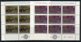 Yugoslavia 1979 Europa 2xsheet MUH - 1945-1992 Socialist Federal Republic Of Yugoslavia