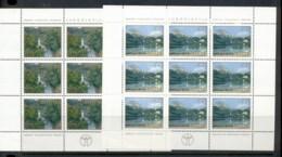 Yugoslavia 1978 Protection Of The Environment 2xsheet MUH - 1945-1992 Socialist Federal Republic Of Yugoslavia