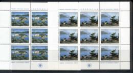 Yugoslavia 1980 European Nature Protection Year 2xsheet MUH - 1945-1992 Socialist Federal Republic Of Yugoslavia