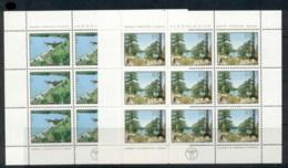 Yugoslavia 1979 Environmental Protection 2xsheet MUH - 1945-1992 Socialist Federal Republic Of Yugoslavia