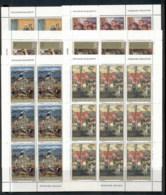 Yugoslavia 1975 Social Paintings 6xsheet MUH - 1945-1992 Socialist Federal Republic Of Yugoslavia