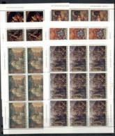 Yugoslavia 1976 Historical Paintings 6xsheet MUH - 1945-1992 Socialist Federal Republic Of Yugoslavia