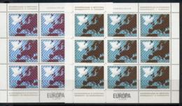 Yugoslavia 1977 Security Conference Belgrade 2xsheet MUH - 1945-1992 Socialist Federal Republic Of Yugoslavia