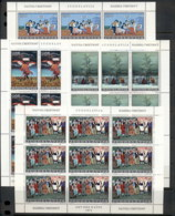 Yugoslavia 1974 Yugoslav Primitive Art 4xsheet MUH - 1945-1992 Socialist Federal Republic Of Yugoslavia