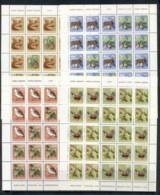 Yugoslavia 1978 New Year Wildlife & Trees 4xsheet MUH - 1945-1992 Socialist Federal Republic Of Yugoslavia