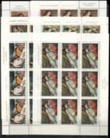 Yugoslavia 1969 Paintings Of Nudes 6x Sheets MUH - 1945-1992 Socialist Federal Republic Of Yugoslavia