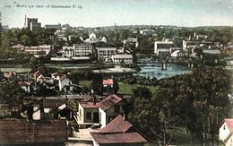 Sherbrooke Québec - Bird's Eye View - Pinsonneault Frères - 2 Scans - Sherbrooke