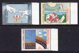CYPRUS - 1987 ANNIVERSARIES & EVENTS SET (3V) FINE MNH ** SG 710-712 - Unused Stamps