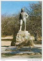 Victoria Falls - Livingstone Statue - Rhodesia - Zimbabwe - Zimbabwe