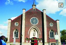 Set 12 Cartes Postales, Bâtiments, églises, Belgium,  Mere, Sint-Bavokerk - Chiese E Cattedrali