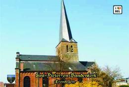 Set 8 Cartes Postales, Bâtiments, églises, Belgium, Erondegem, Sint-Pieter-in-Bandenkerk - Chiese E Cattedrali