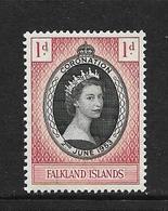FALKLAND 1953 ELIZABETH  YVERT N°115 NEUF MNH** - Falkland