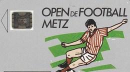 TELECARTE 50.....OPEN DE FOOTBALL   METZ. - France
