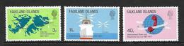 FALKLAND 1977 TELECOMMUNICATIONS YVERT N°251/53 NEUF MNH** - Falkland